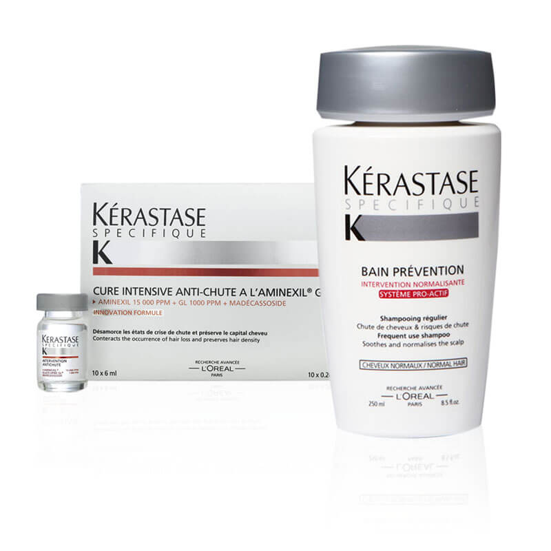 KERASTASE Specifique – Aminexil GL M & Bain Prevention